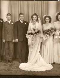 Raymond Buening and Florence Nosbisch Wedding