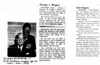 Misc Wagers Obituaries